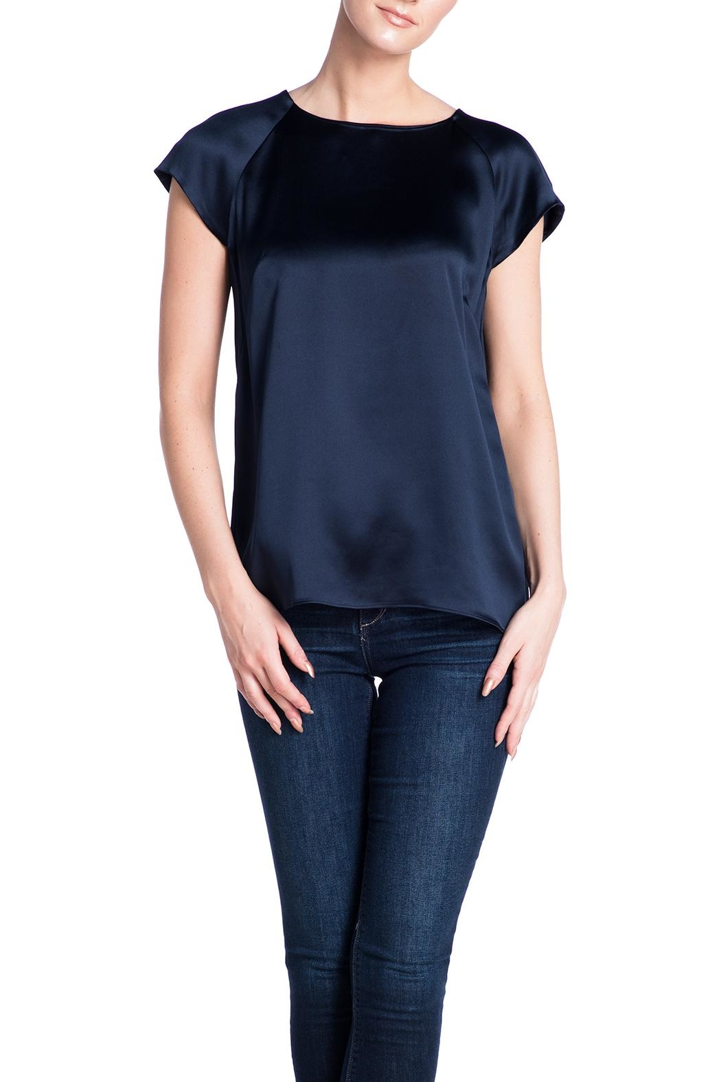 Deitas Silk Cap Sleeved Top - Main Image
