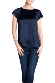 Deitas Silk Cap Sleeved Top - Front cropped