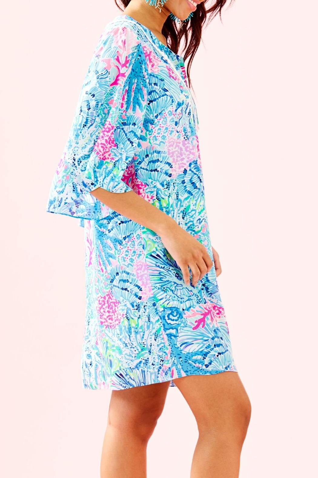 Lilly Pulitzer Delancey Dress - Side Cropped Image