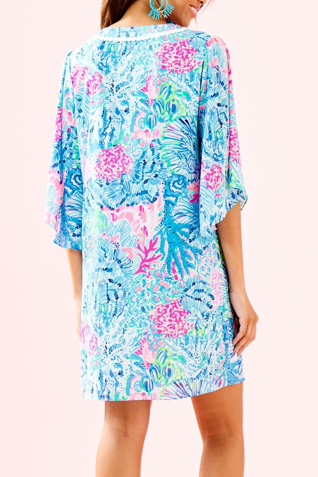 Lilly Pulitzer Delancey Dress - Front Full Image