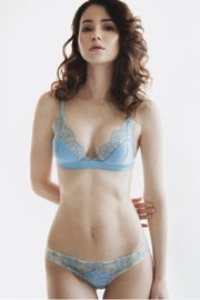 Delanikka Sky Silk Bralette - Side cropped