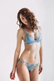Delanikka Sky Silk & Lace Panty - Product Mini Image