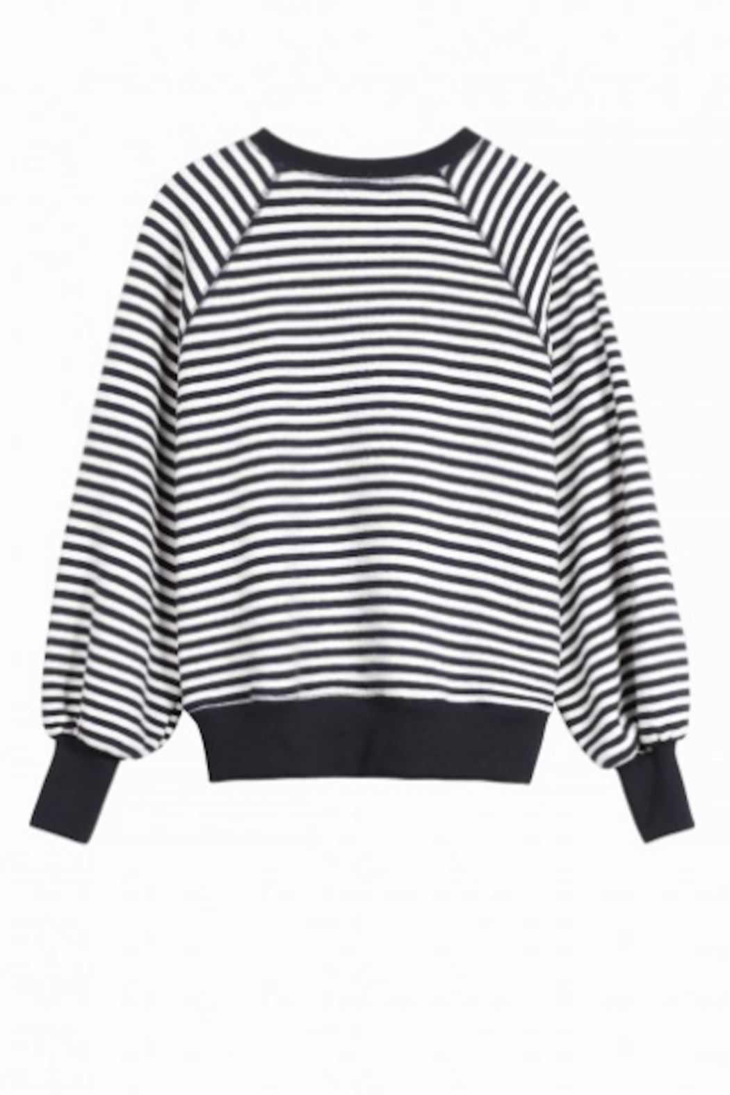 FRNCH Delia Sweatshirt - Back Cropped Image