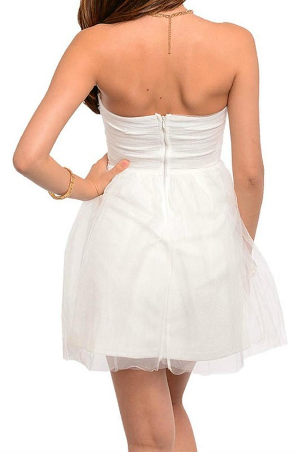 dElia Tulle Love Dress - Front Full Image