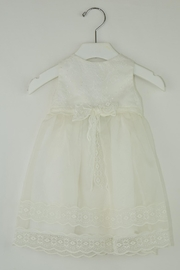 Maria D'Ocon Delicate Baptism Dress - Front cropped