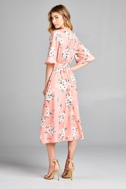 Racine Delicate Floral-Print Midi-Dress - Side cropped