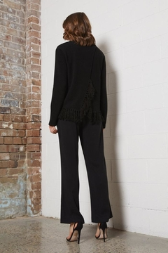 SHILLA THE LABEL Delicate Fringe Sweater - Alternate List Image