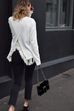 SHILLA THE LABEL Delicate Fringe Sweater - Product List Image