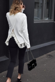 SHILLA THE LABEL Delicate Fringe Sweater - Product Mini Image