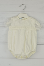 Granlei 1980 Delicate Ivory Onesie - Front cropped