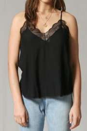 Olivaceous  Delicate Lace Cami - Product Mini Image