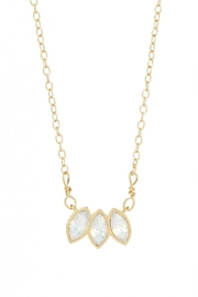 Spartina 449 Delicate Leaf Necklace - Product Mini Image