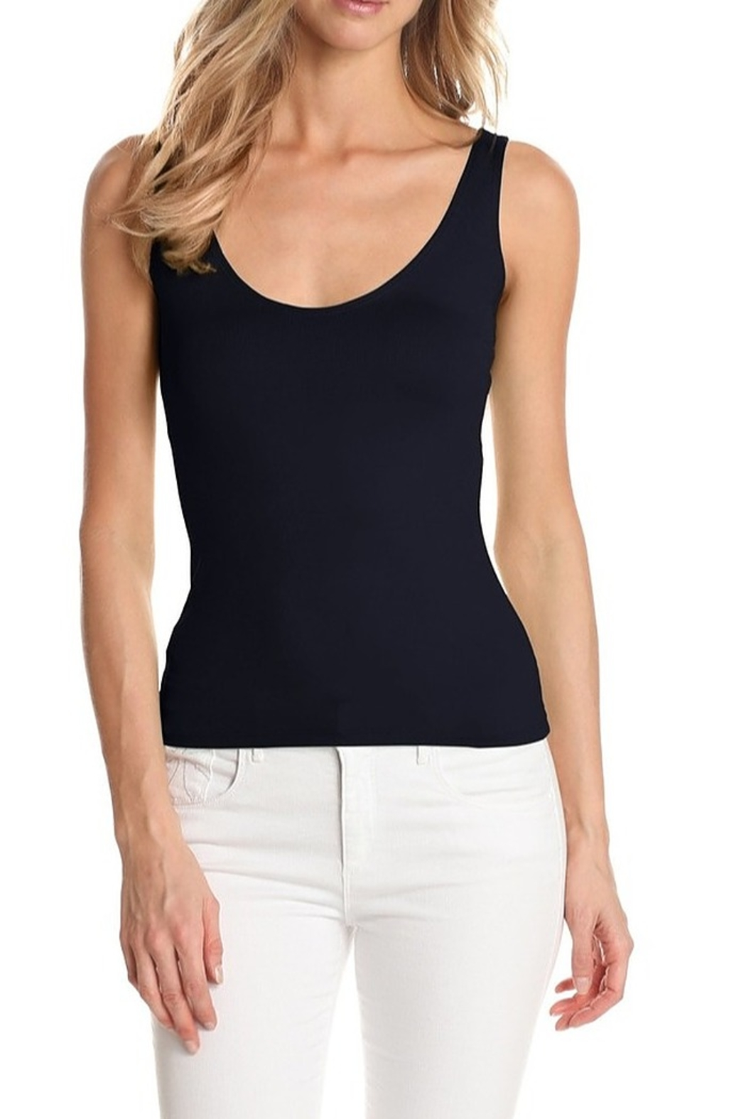 Only Hearts Delicious Low Back Tank - Front Cropped Image