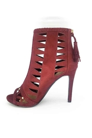 Delicious Shoes Detailed Wine Heels - Other