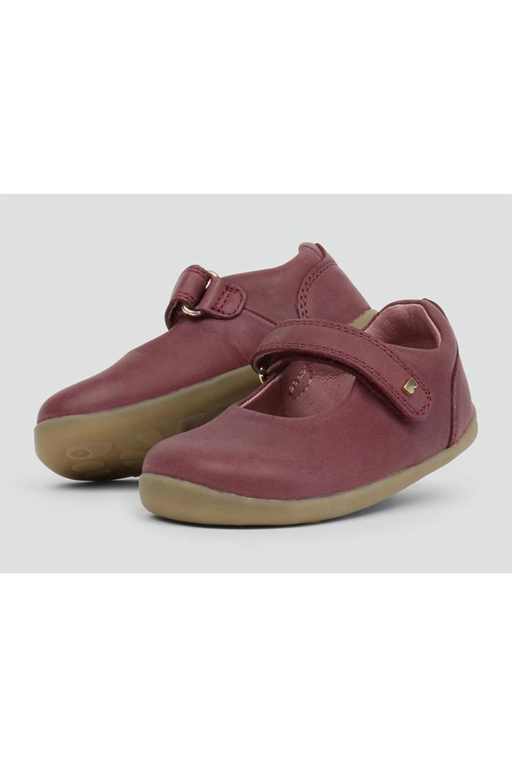 Bobux Delight-Plum Mary-Jane Shoes - Main Image