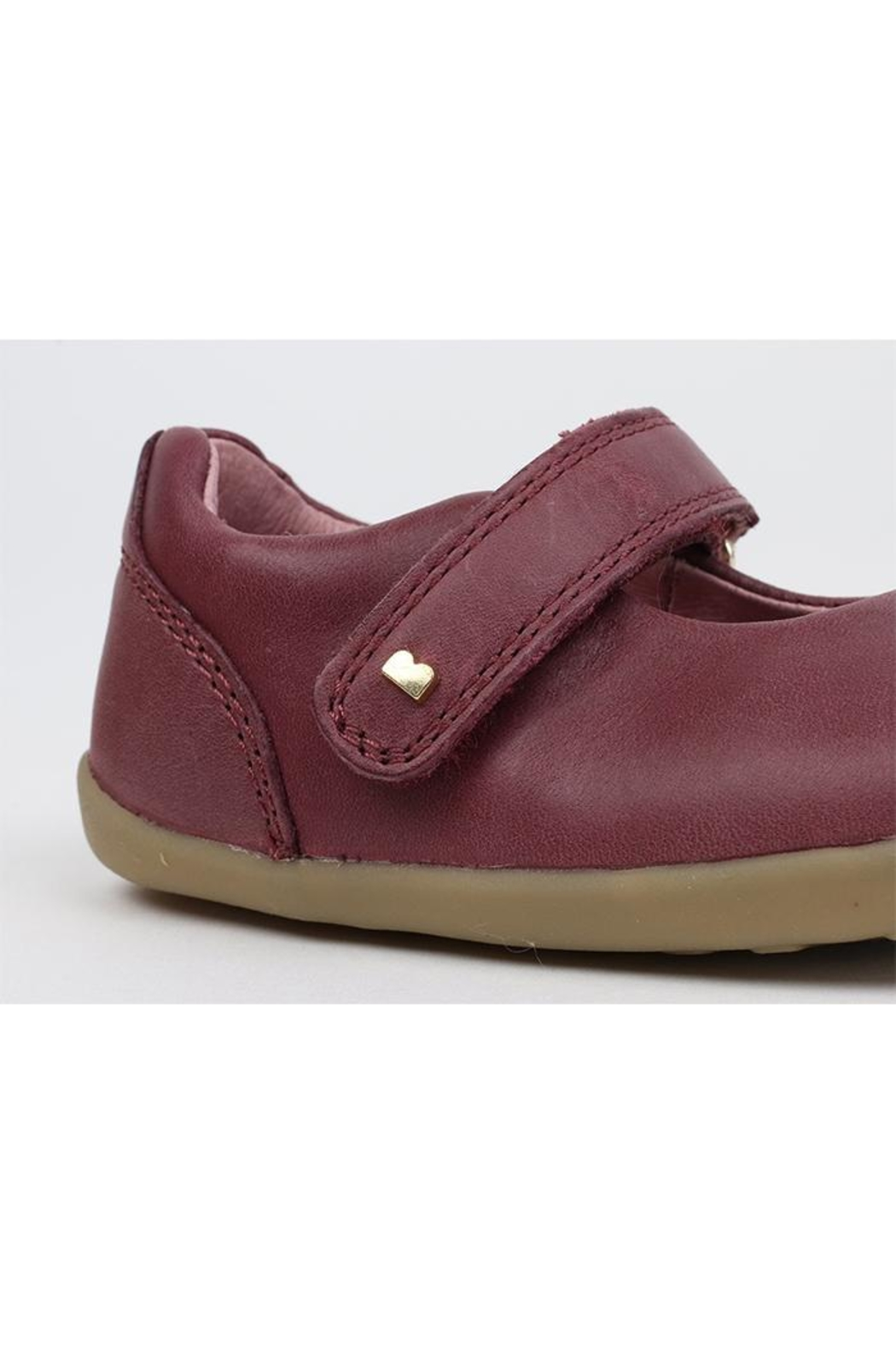 Bobux Delight-Plum Mary-Jane Shoes - Side Cropped Image