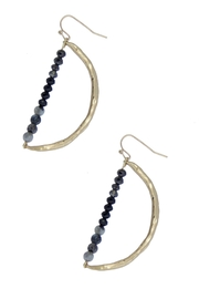 Saachi Delightful Beaded Earring - Front cropped