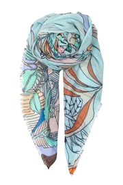 Becksondergaard Delights Omphalodes Scarf - Front cropped