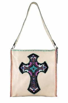 Shoptiques Product: Delila Embroidered Tote