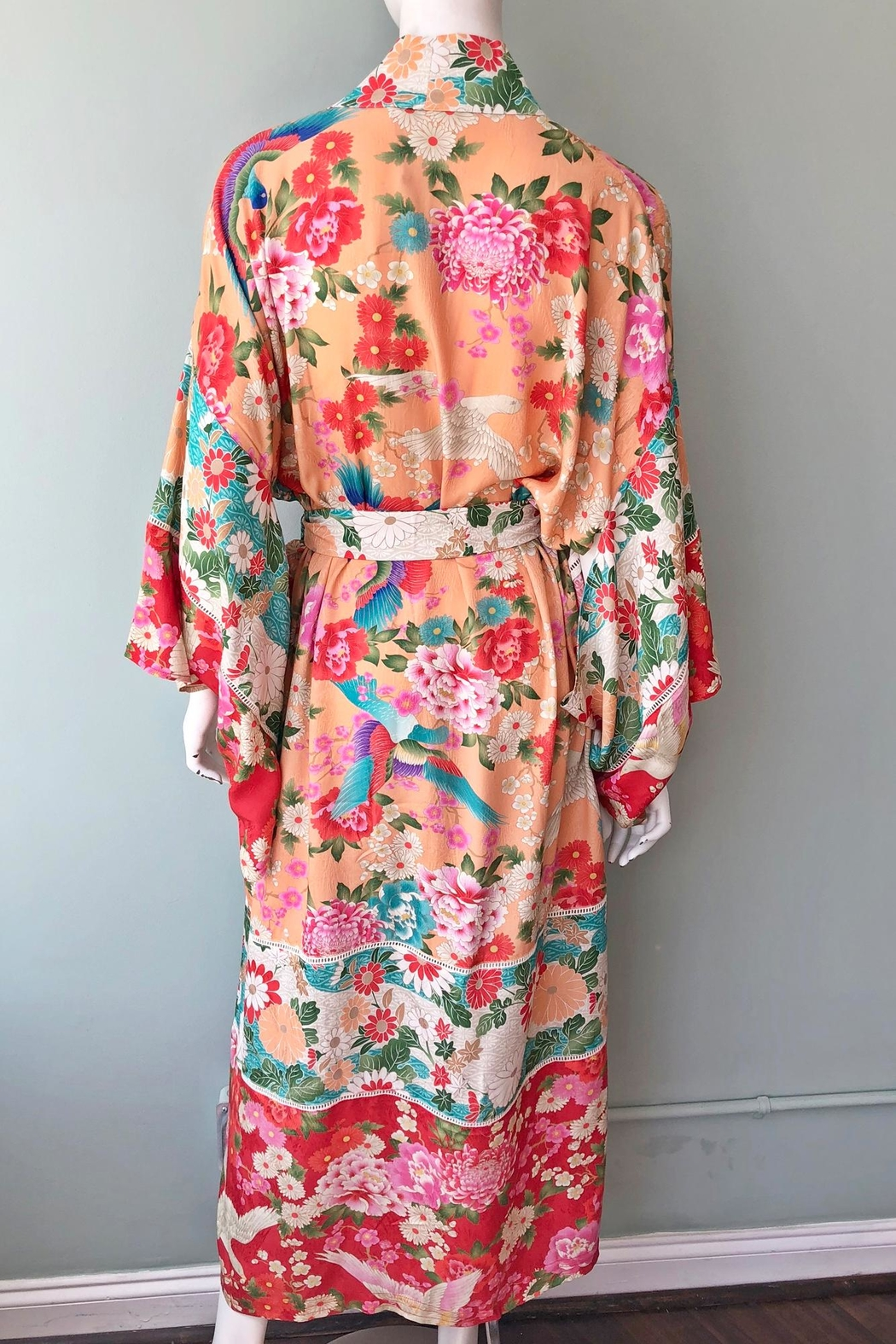 Spell & the Gypsy Collective Delilah Patchwork Kimono - Side Cropped Image