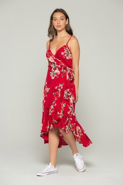 Band Of Gypsies Delphine Wrap Dress - Product List Image
