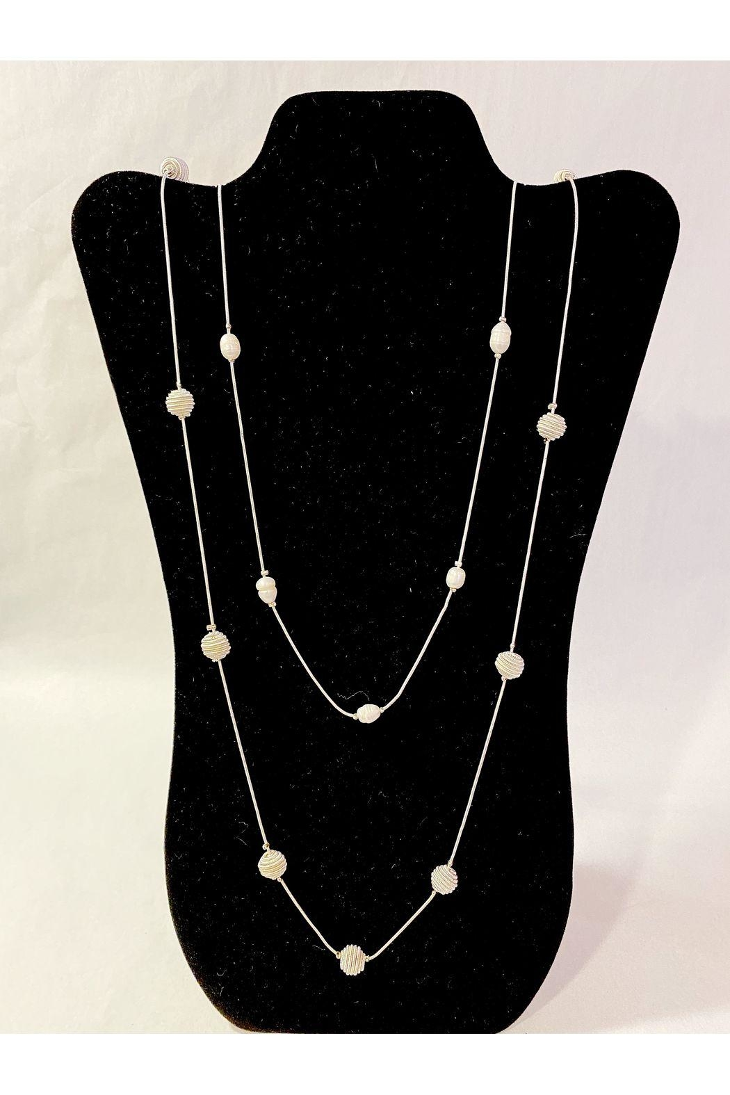 Delton Products Corporation Long Pearl Necklace - Main Image