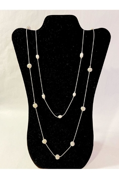 Delton Products Corporation Long Pearl Necklace - Alternate List Image