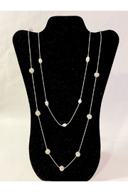 Delton Products Corporation Long Pearl Necklace - Front cropped