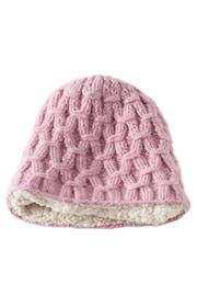 DeLux Pink Wool Beanie - Product Mini Image