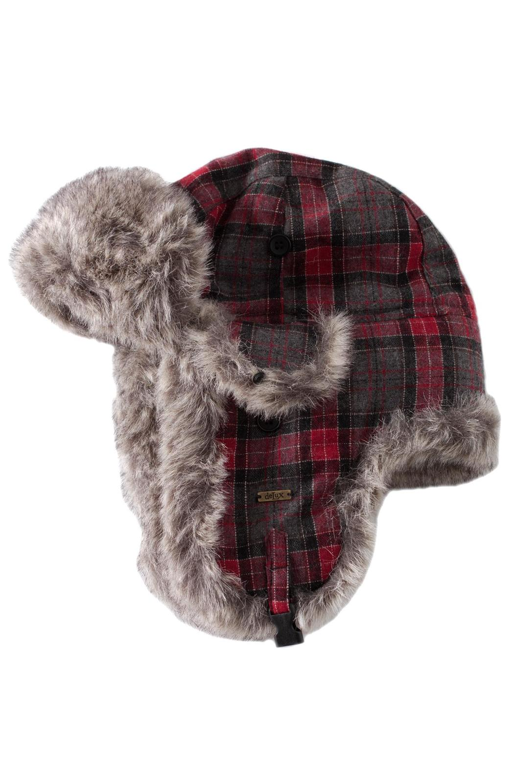 7892e021c DeLux Plaid Trapper Hat from Philadelphia by May 23 — Shoptiques