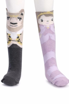 DEMDACO Beauty Beast Socks - Alternate List Image
