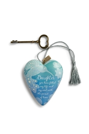 DEMDACO Daughter Art Heart - Product Mini Image