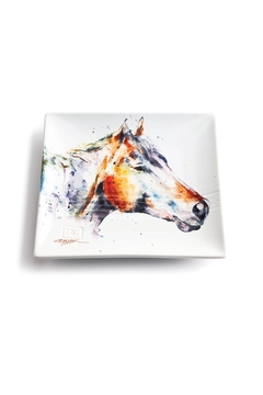 DEMDACO Horse Snack Plate - Alternate List Image