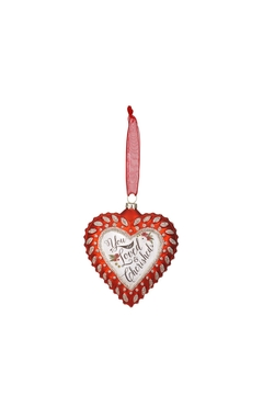 Shoptiques Product: Loved&Cherished Ornament