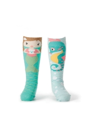 DEMDACO Mermaid Socks - Product Mini Image