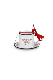 DEMDACO Merry Christmas Mug Saucer - Front cropped