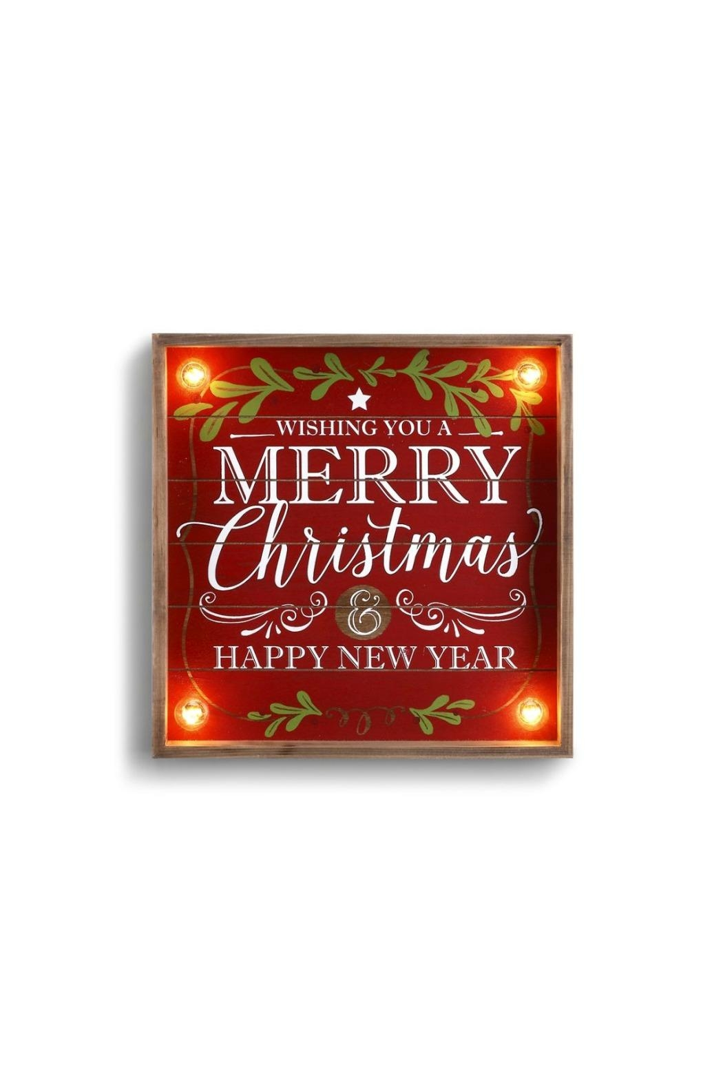 DEMDACO Merry Christmas Sign - Main Image