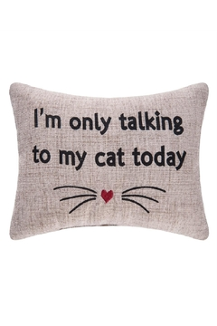 Shoptiques Product: My-Cat-Today Pillow