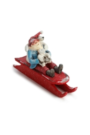 DEMDACO Santa On Sled - Front cropped