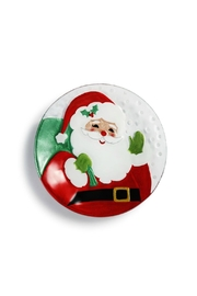 DEMDACO Santa Round Plate - Front cropped
