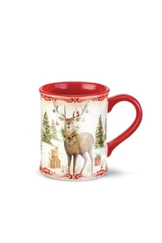 DEMDACO Stag Mug - Front cropped
