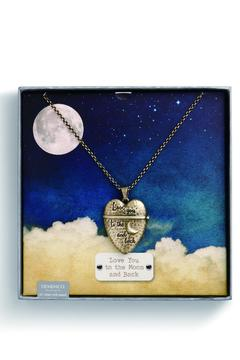 Shoptiques Product: Story Heart Necklace