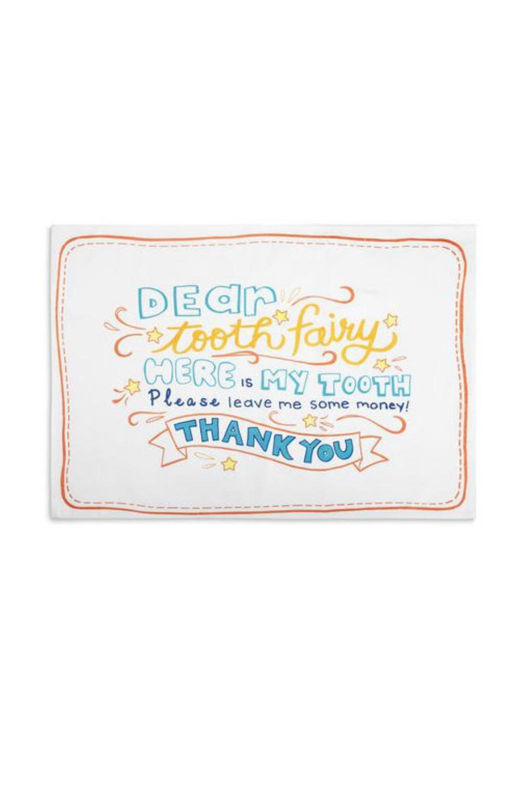 DEMDACO Tooth Fairy Pillowcase - Front Cropped Image