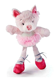 DEMDACO Twirling-Tutu-Pig Priscilla - Front cropped