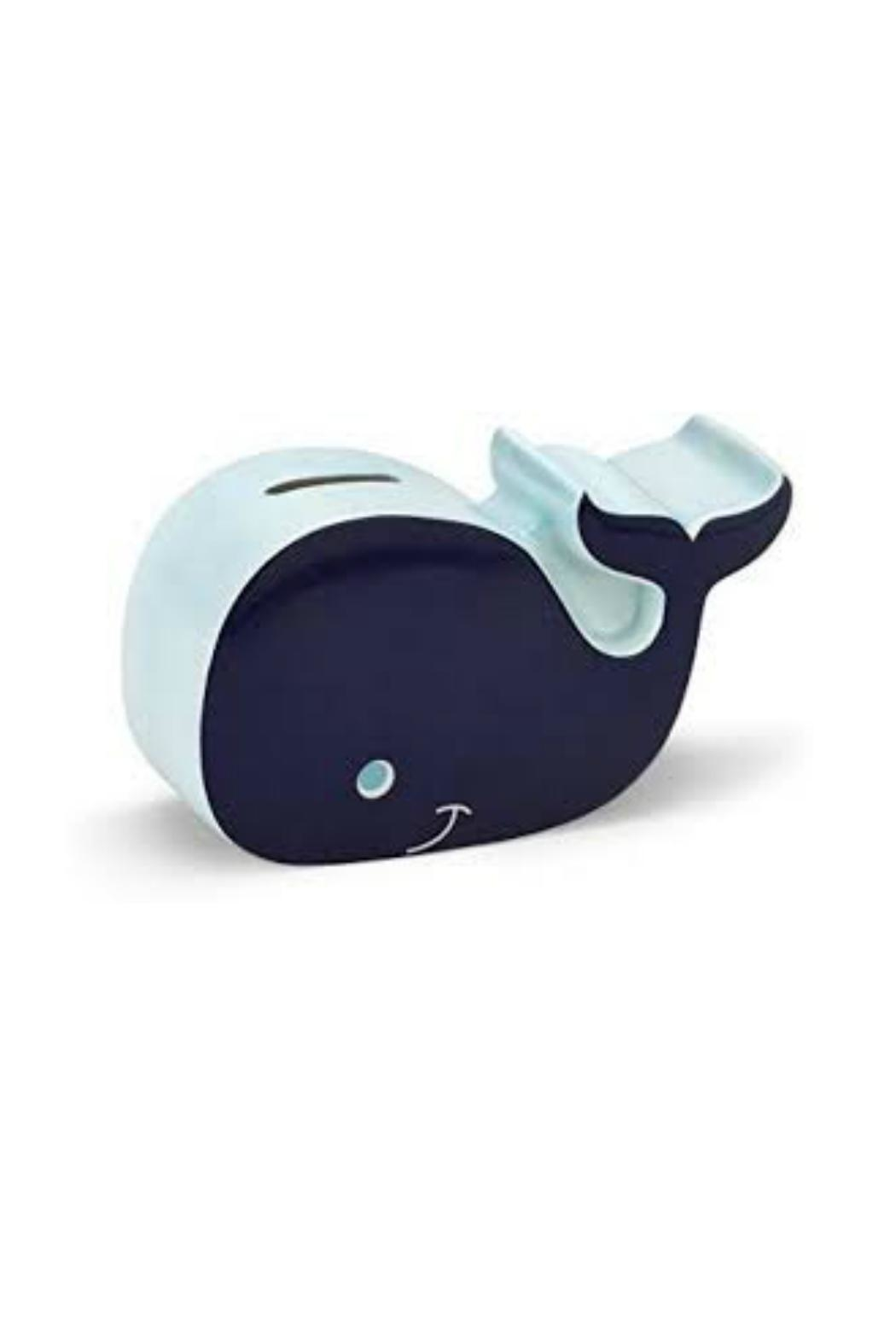 DEMDACO Whale Piggy Bank - Front Cropped Image