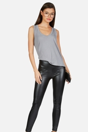 Michael Lauren Demetri Grey Vneck - Product Mini Image