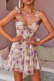Two Sisters Demi Floral Dress - Front full body