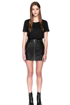 Mackage Demia Leather Skirt - Product List Image