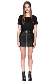 Mackage Demia Leather Skirt - Product Mini Image