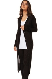 Democracy Button-Up Black Duster - Product Mini Image